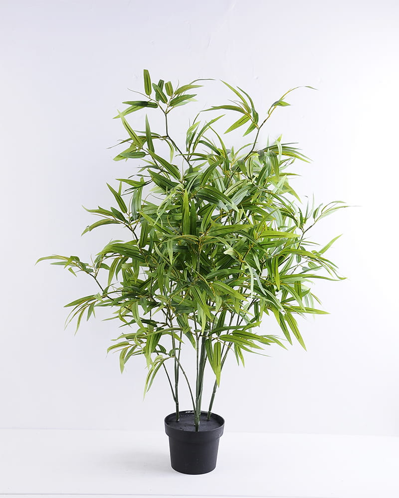 Artificial Tree 73*76*100CM Bamboo tree in the plastic pot/lvs720 GS-30419097