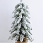 Artificial Tree 27*27*48CM Pine tree in plastic pot GS-30419099