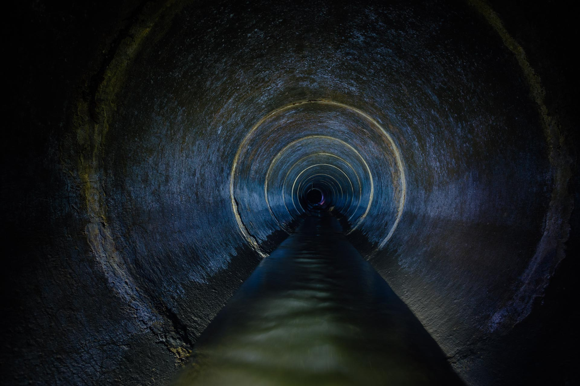 Image of the inside of a sewer