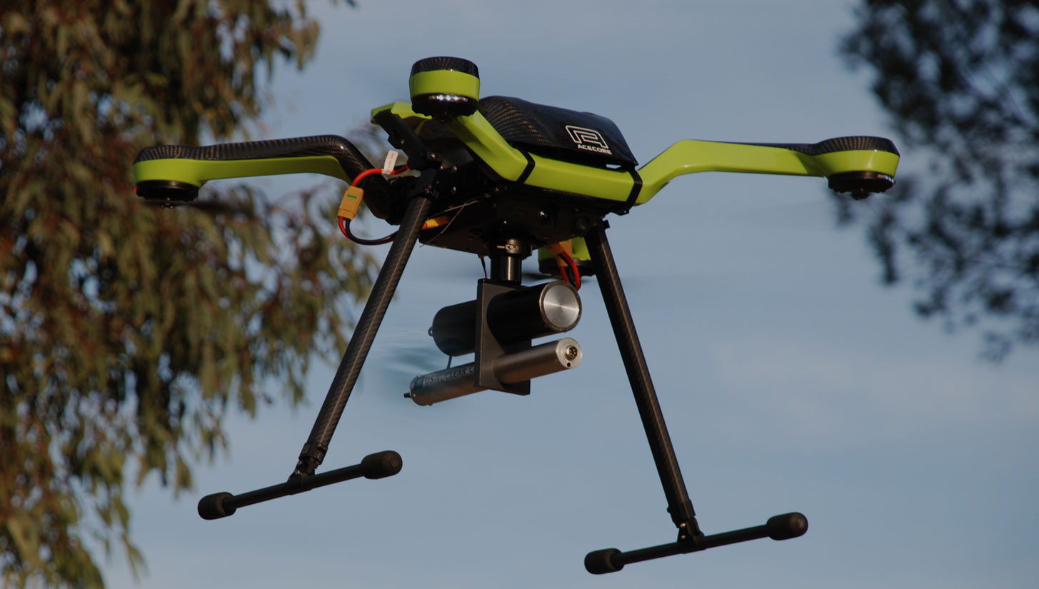 DroneRad Aerial Radiation Detection