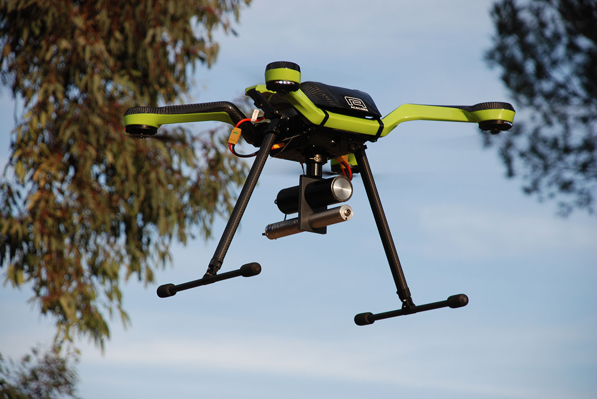 US Nuclear Adds Chemical, Bacterial, & Viral Detection to DroneRAD