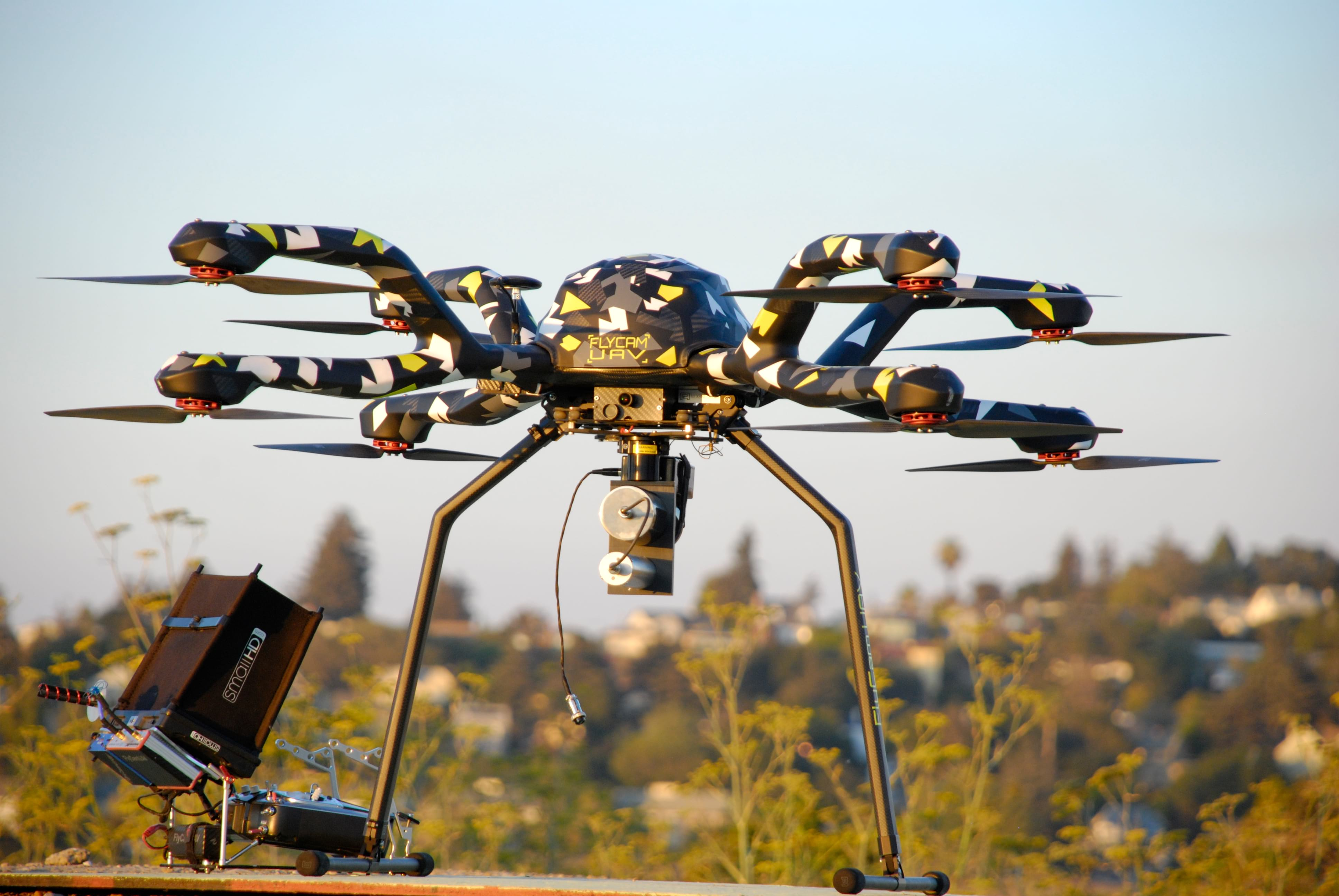 Drone UAV Aerial Radiation Detection