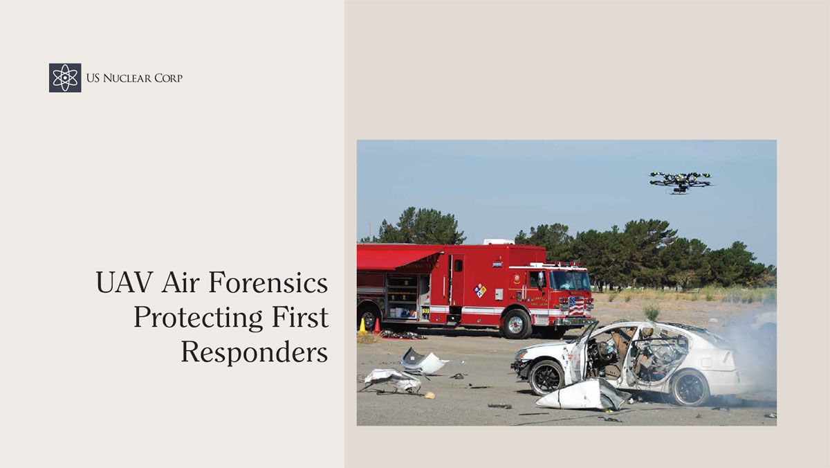 UAV Air Forensics Protecting First Responders