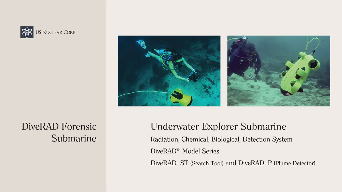 DiveRAD Forensic Submarine