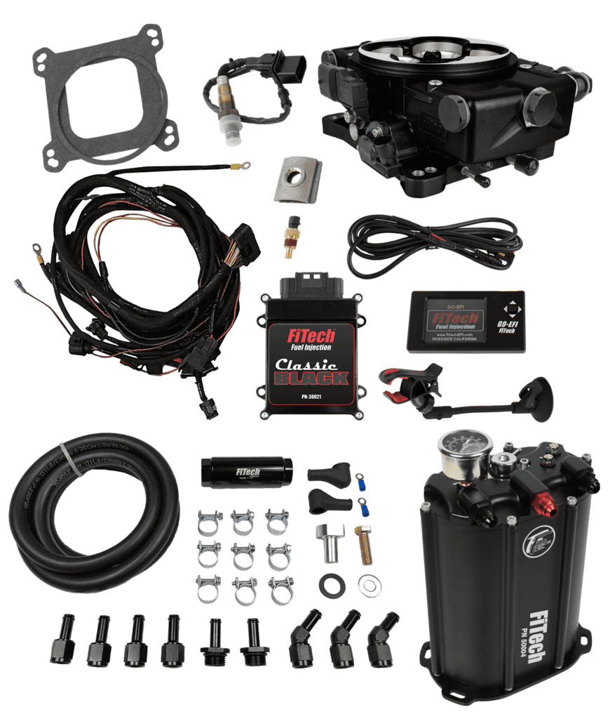 Go EFI Classic Black 550 HP External ECU x:Force Fuel, Fuel Delivery System