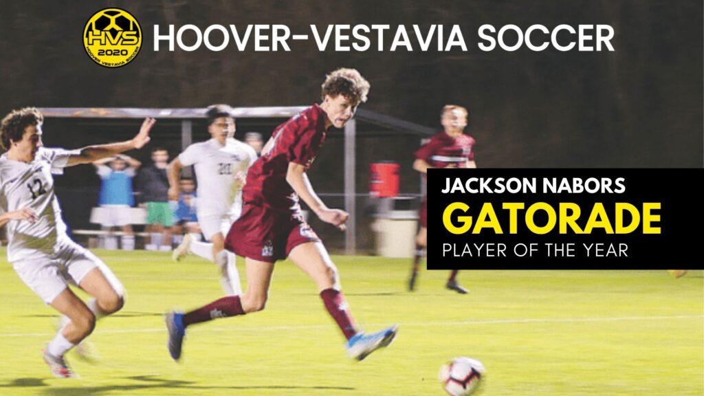 Jackson Nabors - Gatorade Player of the Year 2020-2021