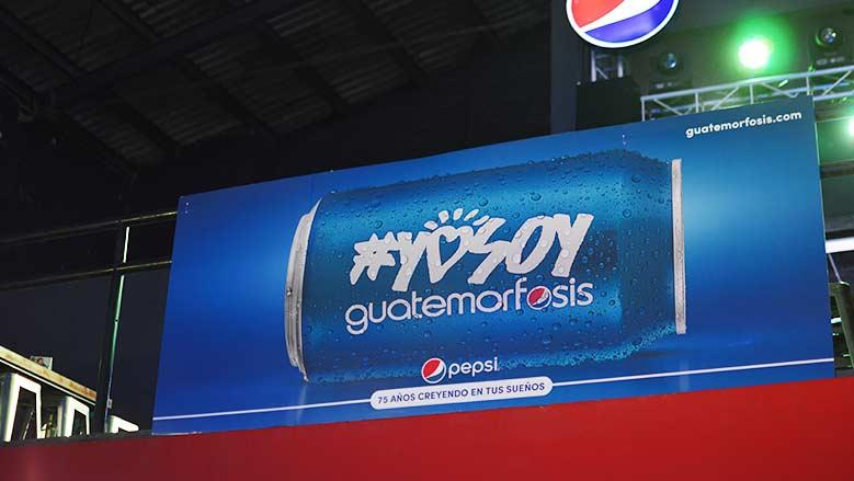 La nueva campaña de Pepsi promueve a los guatemaltecos a ser parte del cambio con #YoSoyGuatemorfosis