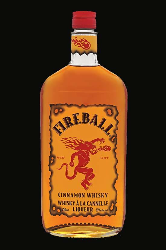 Fireball Cinnamon Whisky / Foto: Cortesía.