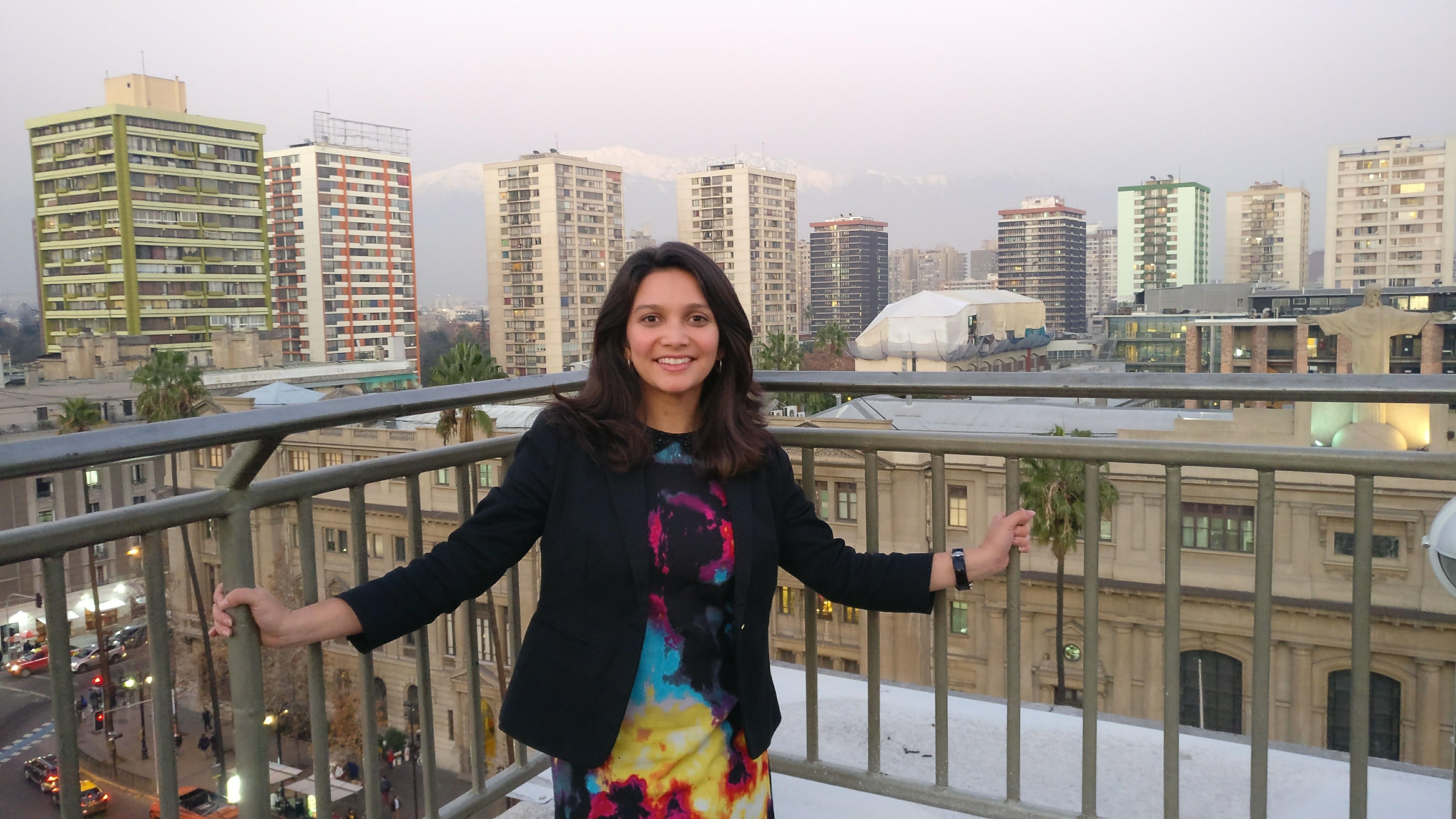 Andreana Castellanos, la fundadora de Afinidata es guatemalteca con un MBA obtenido en Estados Unidos, a través de una beca Fulbright: