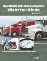 Operational and Economic Impacts of the New Hours-of-Service