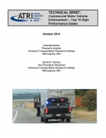 CMV Enforcement Top Ten High Performance States - Tech Brief