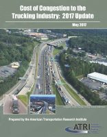 Cost of Congestion to the Trucking Industry:  2017 Update