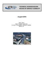 ATRI Hours-of-Service Flexibility Technical Memo
