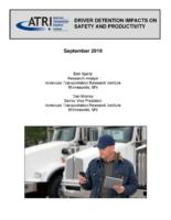 Driver Detention Impacts on Safety and Productivity