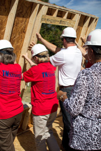 Habitat for Humanity Williamson County volunteers