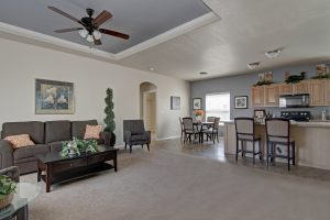 interior view of manufactured home