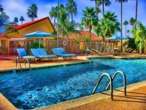 pool at palm gardens rv park