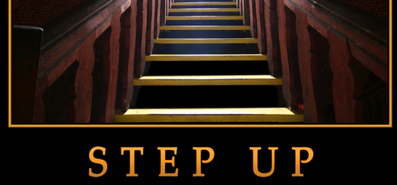 Image result for images of someone stepping up""