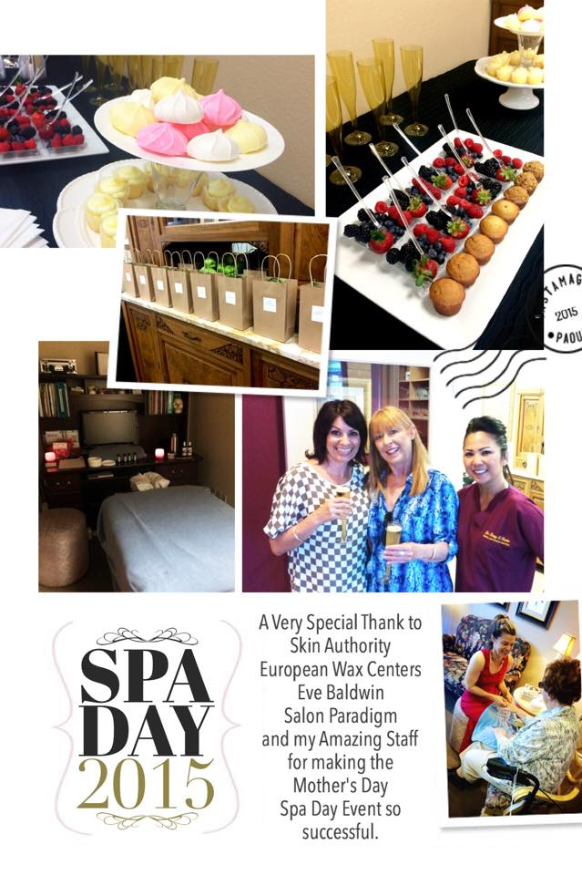 Mother's Day Spa Day 2015