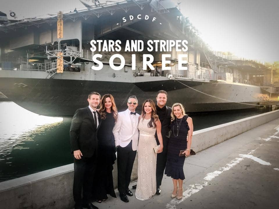 San Diego County Dental Foundation Stars and Stripes Soiree
