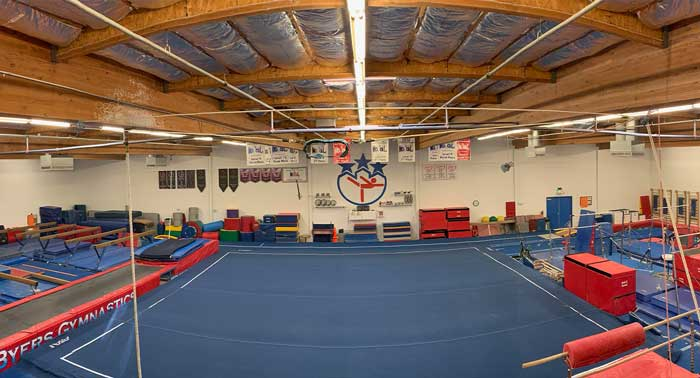 Byers-Gymnastics-Roseville-location-interior