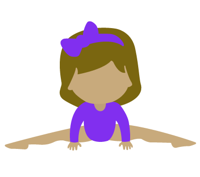 Byers-gymnast-girl-doing-middle-splits