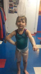 Byers Gym Kid Dressed Up Bubble-Wrap