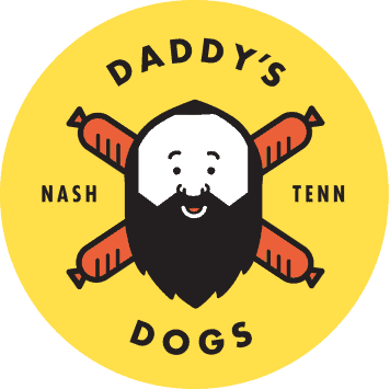DADDYS DOGS NASHVILLE LOGO