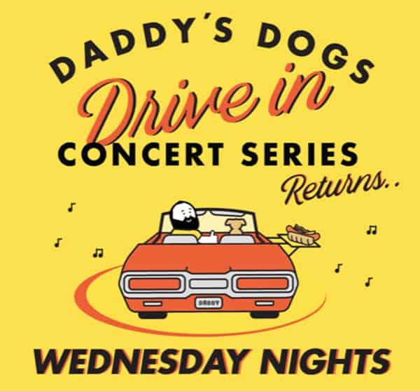 Daddy's Dogs Drive IN Concert Series Nashville Tennessee