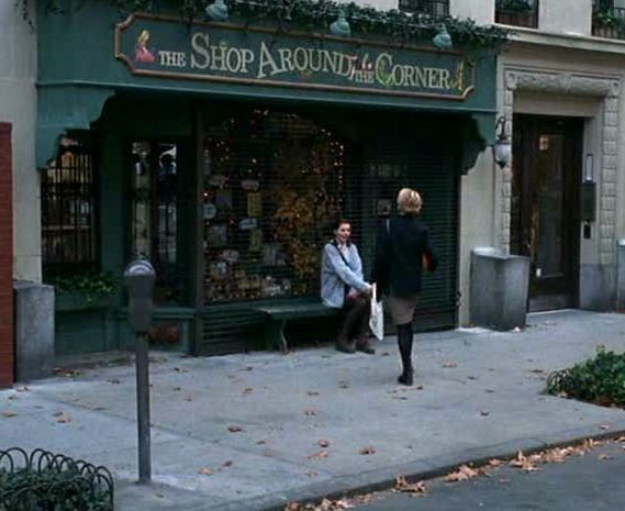 meg ryan and kathleen kelly's shop around the corner from you've got mail