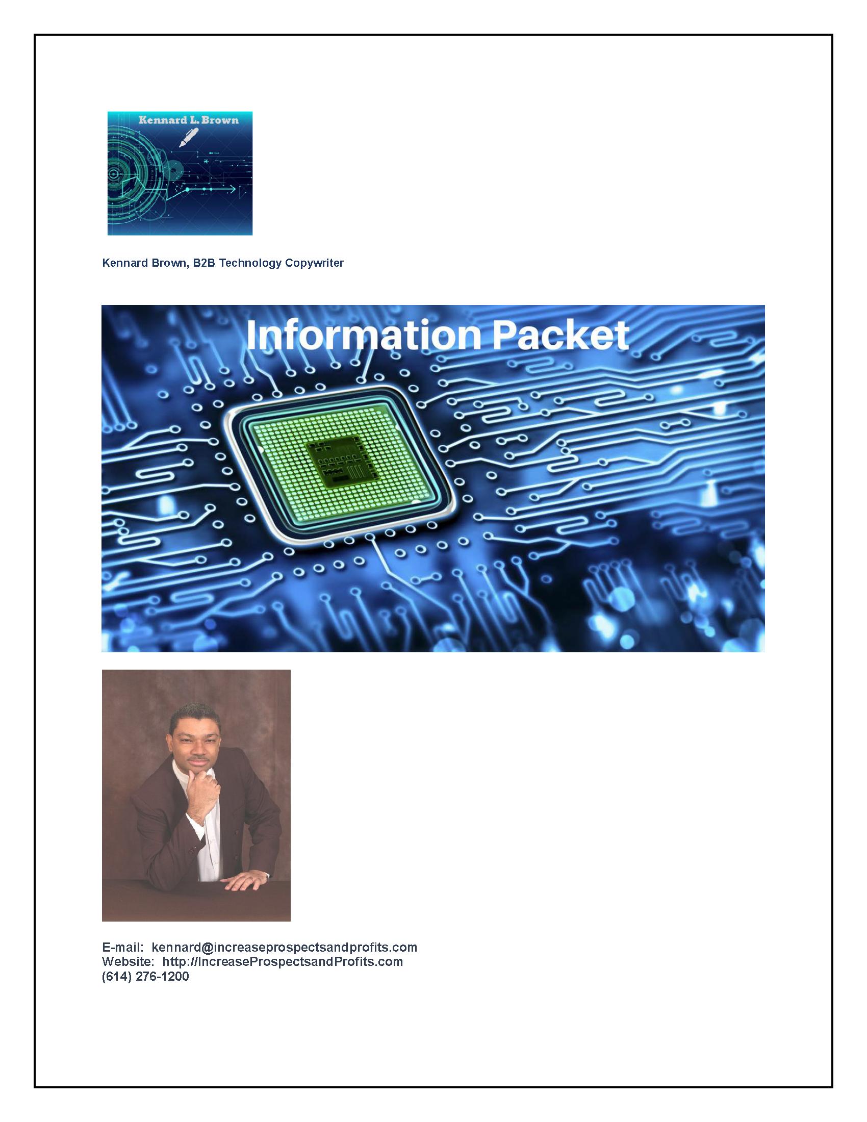 B2B Tech Information Packet