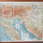 Custom framed maps are a beautiful way to decorate your home