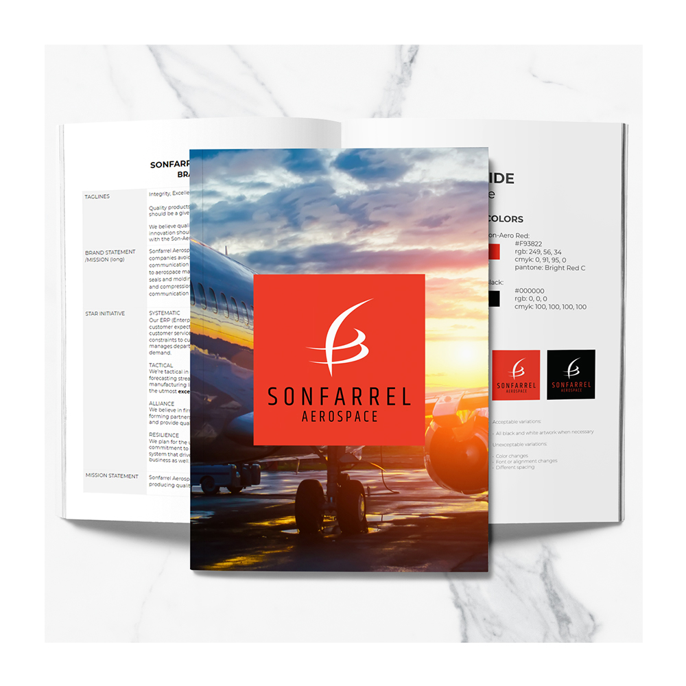 manufacturing company branding brand guide