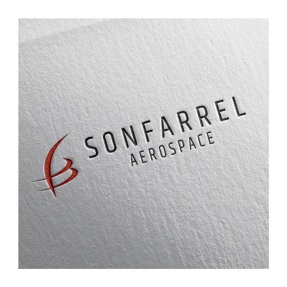 Aerospace Company Logo Design - Sonfarrel Aerospace