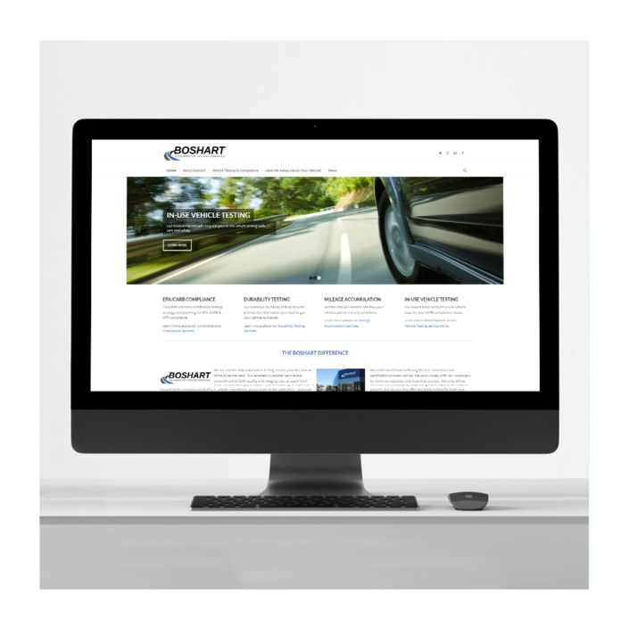 Automotive business website