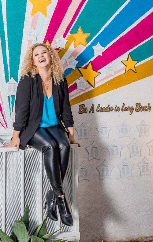 Long Beach Branding Agency founder Andrea Guevara