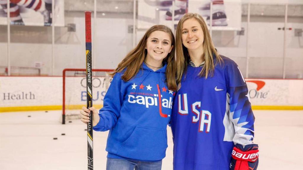 Haley Skarupa Named Capitals' Hockey Ambassador