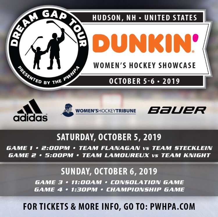 PWHPA 'Dream Gap Tour' Rosters Set For Hudson