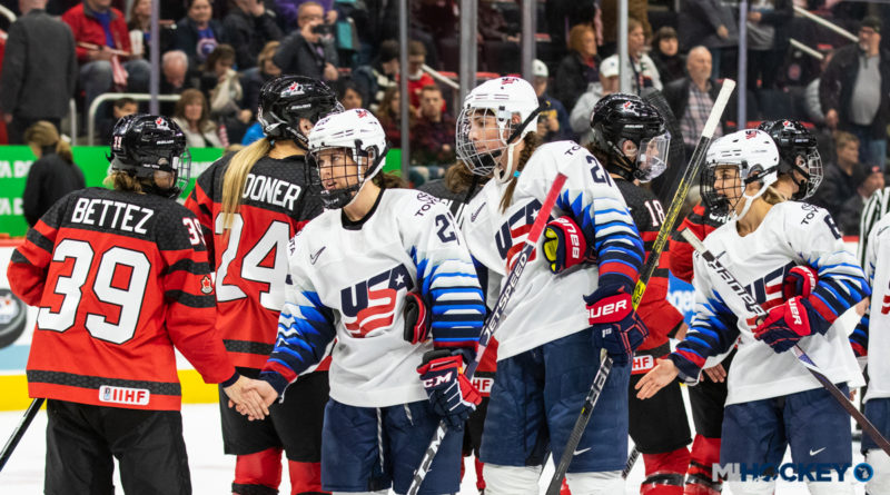 Canada/USA Rivalry Series Game 1 a Success