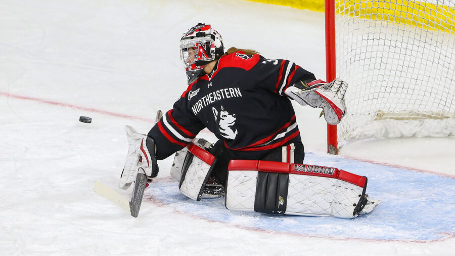 Northeastern Huskies Winning On Strength Of Defense, Goaltending