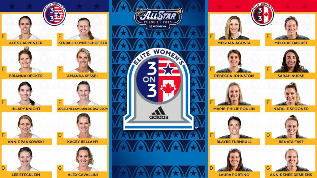 GAMEDAY! Women's Three-On-Three Takes Over NHL All-Star Skills