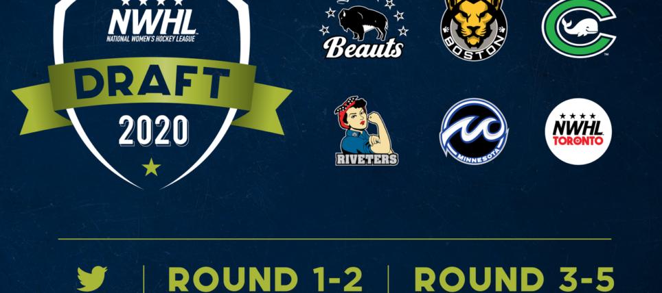 Boston Pride Acquire 1st Overall Pick in NWHL Draft