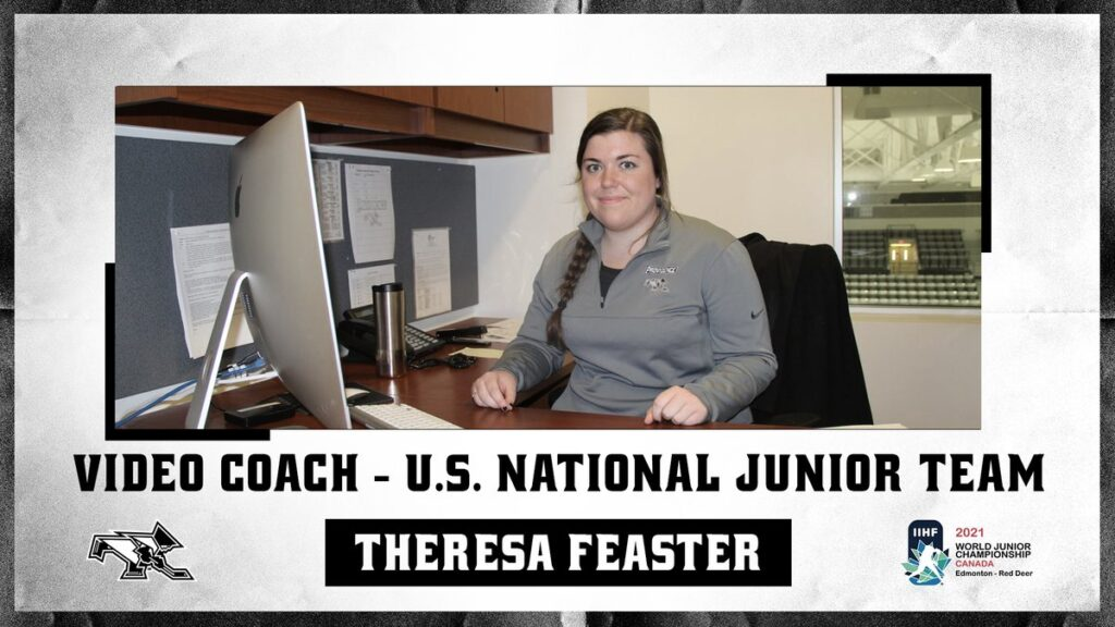 Theresa Feaster Named To 2021 U.S. World Junior Coaching Staff