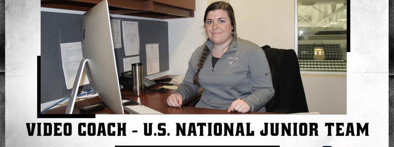 Theresa Feaster Named To 2021 U.S. World Junior Coaching Staff