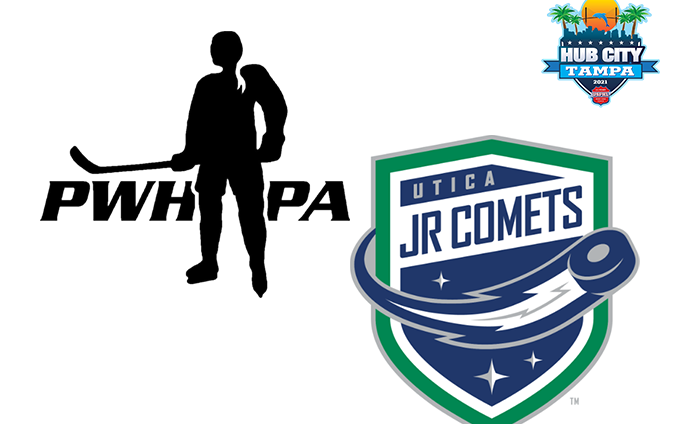 PWHPA 'All-Stars' Look To Climb Above .500 Vs. Utica Junior Comets