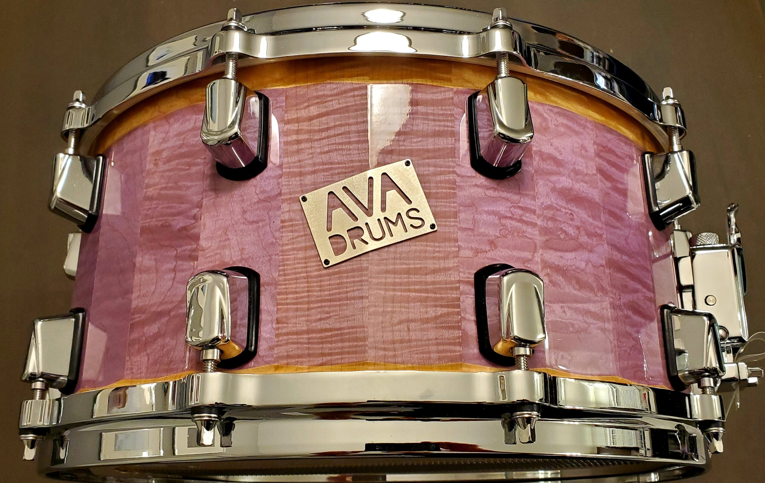 14 X 7 FIGURED MAPLE – PINK ACCENT