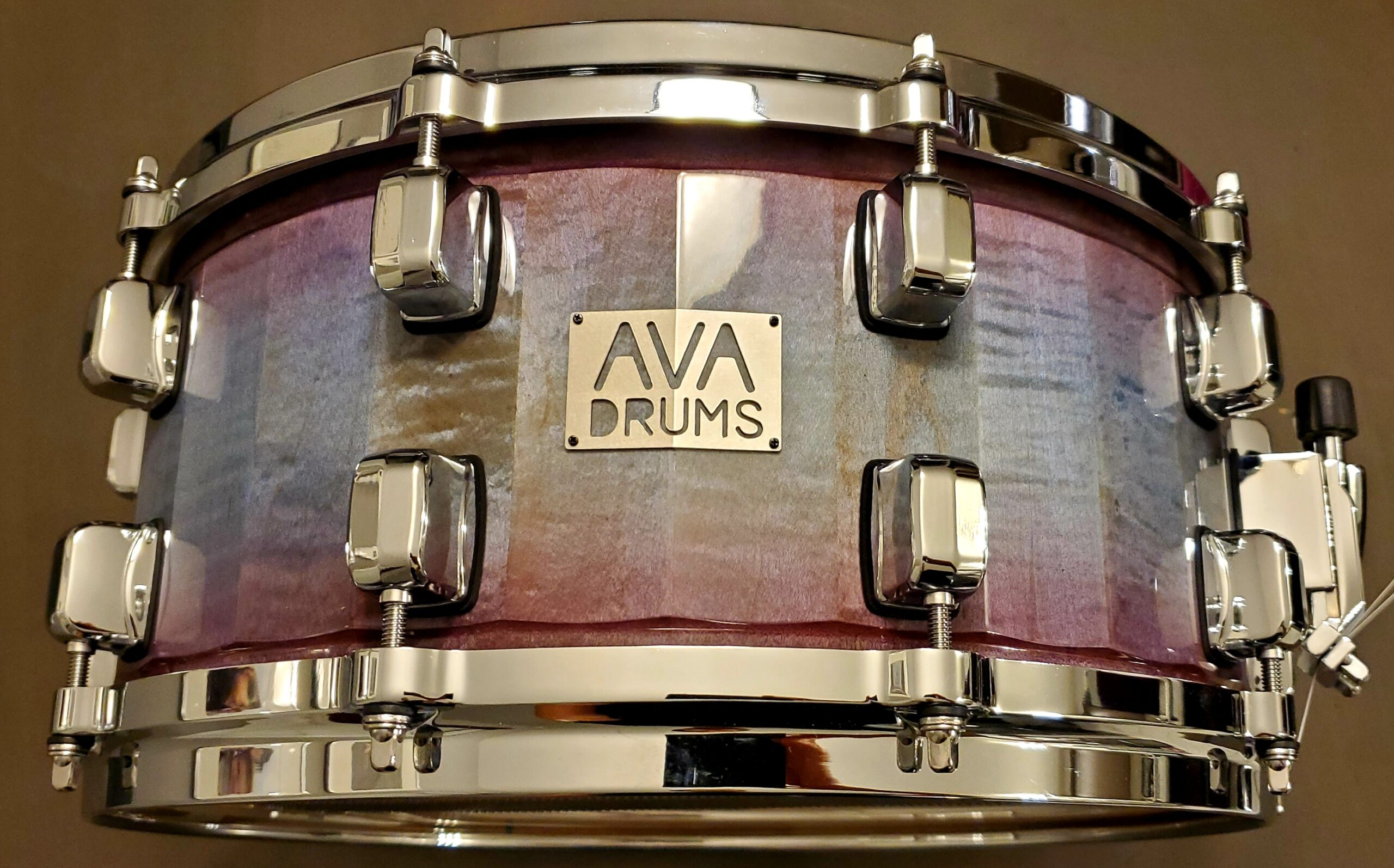 14 X 6.5 MAPLE – BLUE/RED FADE