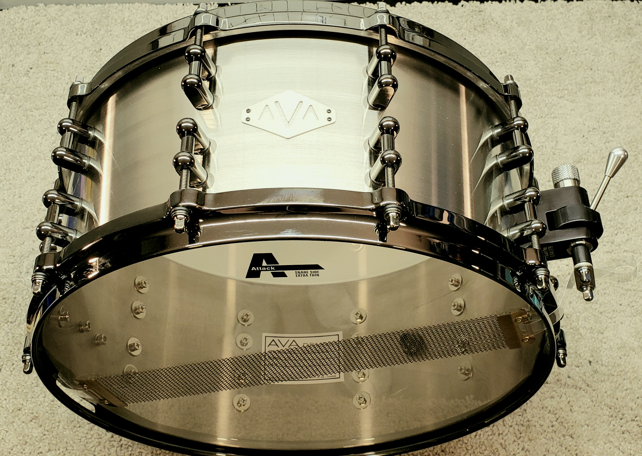 14 X 6.5 CAST STAINLESS STEEL
