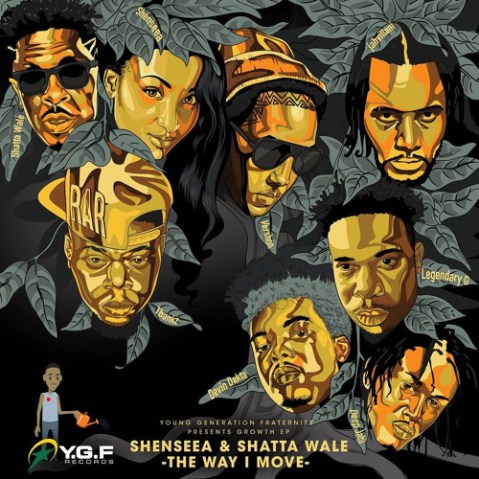 Shenseea feat. Shatta Wale – The Way I Move