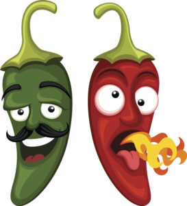 Cartoon Jalapenos